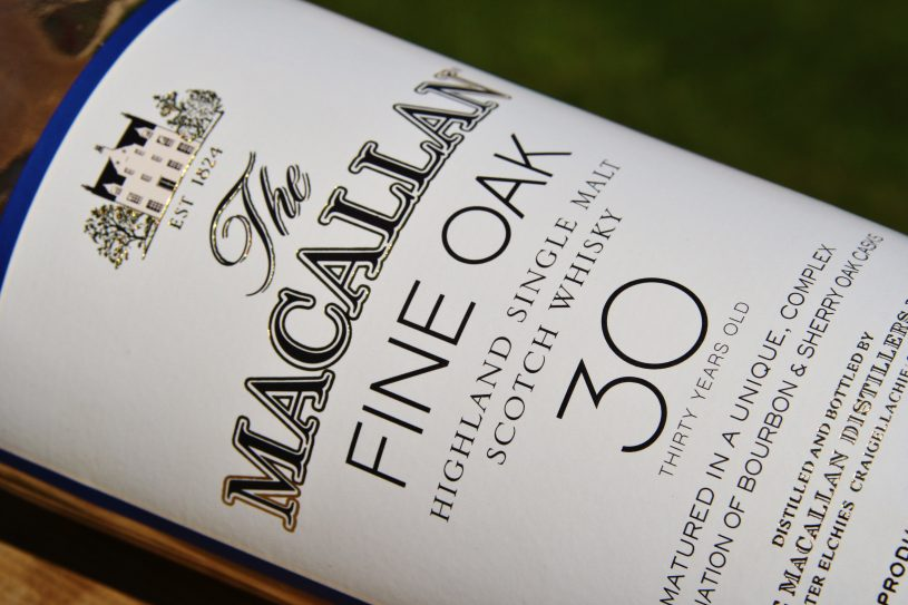 MACALLAN 30 YEARS OLD FINE OAK