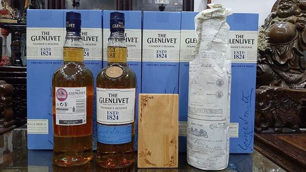 rượu the glenlivet 1824