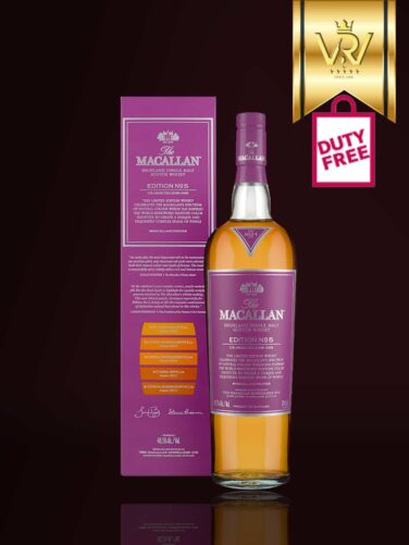 Rượu Macallan Edition No.5 Duty Free